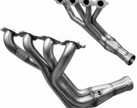 """Corvette Kooks 2"""" x 3"""" Long Tube Stainless Steel Exhaust Header System, 2014-2019"""