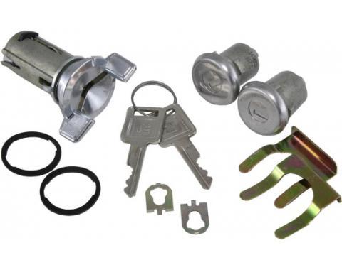 Corvette Ignition & Door Lock Set, With Keys, 1969-1978