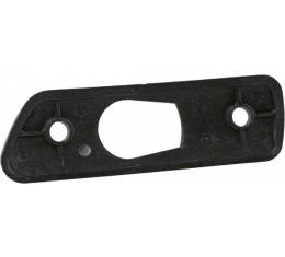 Corvette Outside Mirror Gasket, Left, USED 1984-1996