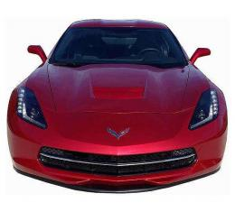Corvette Stingray Painted Body Color Front Splitter, Stage 1, 2014-2018
