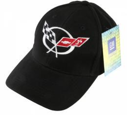 Corvette Black Cap With C5 Logo