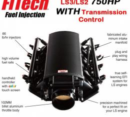 Ultimate LS Kit for LS3/L92 - 750HP With Trans. Control   FiTech - 70014
