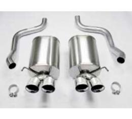 "Corvette CORSA Exhaust System, Sport With Pro-Series 4"" Quad Tips, ZR1/Z06, 2006-2013"
