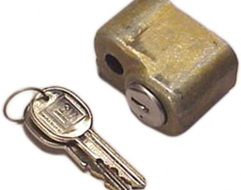 Corvette Spare Tire Lock, With Keys, 1963-1982