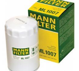 Mann Filter, Oil Filter| ML 1007 Corvette LT1 Or LT4 1992-1996