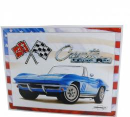 Corvette 1965 Stingray Tin Sign