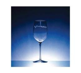 Corvette Crystal Crescendo Chardonnay 12.5 Ounce Glass Set Of Four by Luigi Bormioli for C7 Corvettes