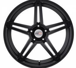 Corvette Wheel, Cray Brickyard, 19x9.5, Matte Black, 2014-2017