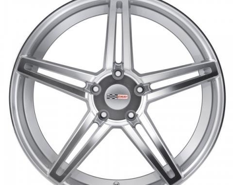 Corvette Wheel, Cray Brickyard, 18x9.5, Silver, 2014-2017