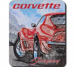 Corvette Red Stingray Mousepad
