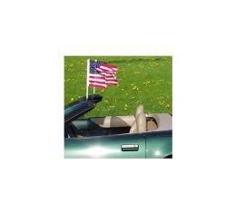 Corvette Flag Caddies, Windshield Mount, Convertible, 1986-1996
