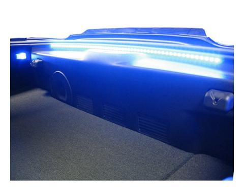 Corvette Rear Hatch and Trunk Bright LED Strip Kit, 2014-2017