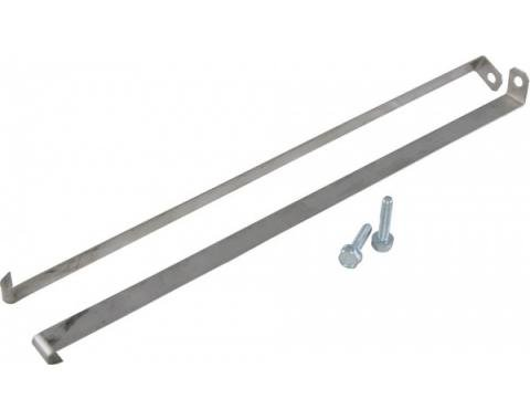 Corvette Expansion Tank Straps, with Replacement Bolts, 1964-1972