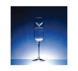 Corvette Crystal Crescendo Champange Glass Set Of Four by Luigi Bormioli for C7 Corvettes - 8.25 Ounce