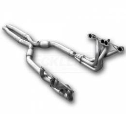 Corvette American Racing Headers 1-3/4 inch x 3 inch Full Length Headers With 3 inch X-Pipe Without Cats, Off Road Use Only, 1984-1996