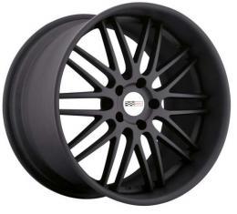 "Corvette Wheel, Cray Brickyard 20x12"" Machine Matte Black, 2006-2013 Z06 & Grand Sport"