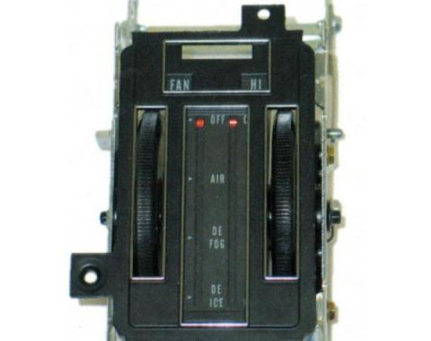 Corvette Heater Control Assembly, Without Air Conditioning, 1969-1971