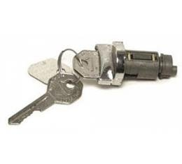 Ignition Lock Cylinder, With Keys, 1949-1964