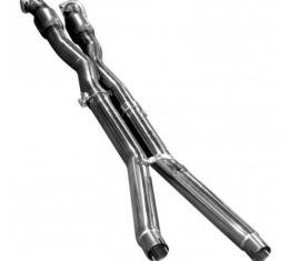 Corvette Z06/ZR1 3'' x 3'' Race Catted Stainless X-Pipe, 2006-2013