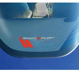 Corvette Shade, Rear Cargo, Coupe, Grand Sport Embroidery, 2010-2013