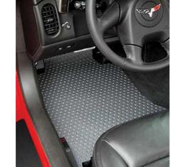 Lloyd Mats, Rubbertite Floor Mats, Gray  154025112 Corvette 2007Late-2013