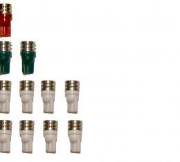 Drake Muscle Ultra Bright Instrument Panel LED Bulb Kit SD-FOX-LED-GA-W
