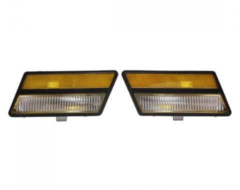 Trim Parts 80-82 Corvette Front Side Marker Light Assembly, Pair A5730