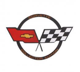 Trim Parts 82 Corvette CollectorÆs Edition Fuel Door Emblem, Each 5976
