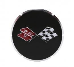 Trim Parts 67 Corvette Gas Lid Emblem, Each 5010