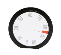 Trim Parts 58 Corvette Tachometer Face, 8000 RPM, Each 5117