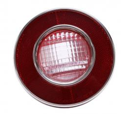 Trim Parts 74 Corvette Back Up Light Lens Assembly, Each A5823