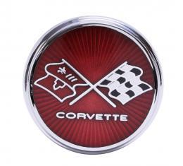 Trim Parts 75-76 Corvette Front Emblem, Each 5961