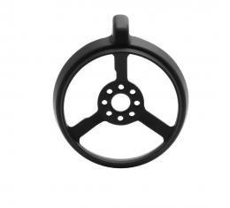 Trim Parts 68 Corvette Telescopic Lock Ring, Black, Each 5066