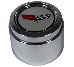Trim Parts 82 Corvette Wheel Center Cap, 4 Needed Per Car, Each 5021