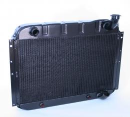 DeWitts 1955-1960 Chevrolet Corvette Direct Fit Radiator Black, Automatic 32-1249055A