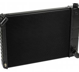 DeWitts 1966-1967 Chevrolet Corvette Direct Fit Radiator Black, Automatic 32-1239066A