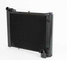 DeWitts 1961-1962 Chevrolet Corvette Direct Fit Radiator Black, Automatic 32-1249061A