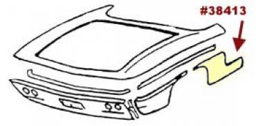 Corvette Quarter Panel, Right, Front, Lower, Rear, 1961-1962