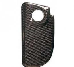 Corvette Coolant Reservoir Cover, Carbon Fiber, 1997-2004