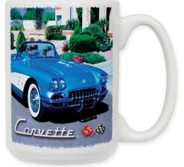 58 Corvette Coffee Mug
