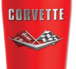 Corvette Mugzie® brand Travel Mug - 1961 Corvette C2 Logo