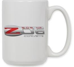 Corvette Z06 Logo Coffee Mug