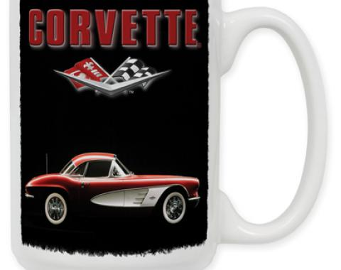 61 Corvette Coffee Mug