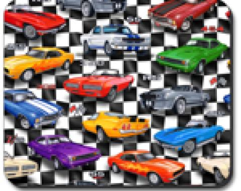 Muscle Cars Mouse Pad