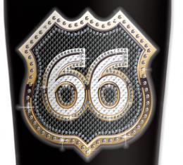 Mugzie® brand Travel Mug - Route 66 Bling (gold)