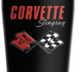 Corvette Mugzie® brand Travel Mug - Corvette C3 Stingray Logo