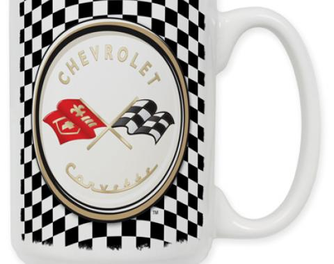 Checkered Flag Logo Coffee Mug