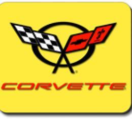 Corvette C5 Logo, Mouse Pad