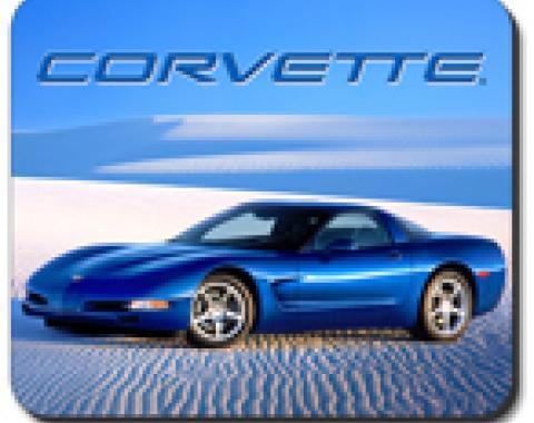 Corvette Desert Vette Mouse Pad