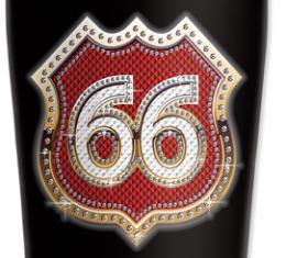 Mugzie® brand Travel Mug - Route 66 Bling (red)